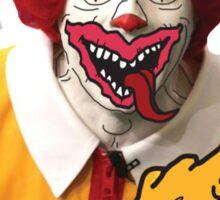 Rude Ronald McDonald Sticker
