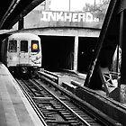 Brooklyn F Train by Curley