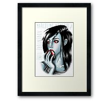 Adventure Time - Marceline Abadeer Framed Print