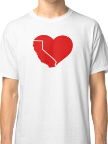 I Love California Heart Classic T-Shirt
