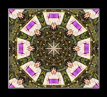 Twenty Four Geisha In Twelve Kimono by Carlo Cesar Rodillas