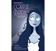 Corpse Bride Art Deco Photographic Print