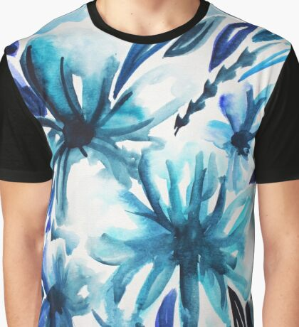 Hues of Blue Graphic T-Shirt