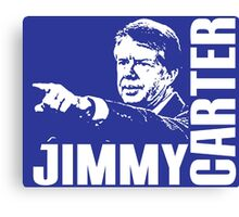 JIMMY CARTER Canvas Print
