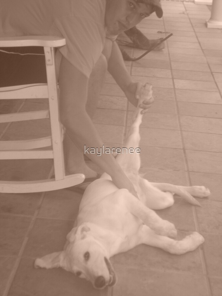 Mans Best Friend by kaylarenee
