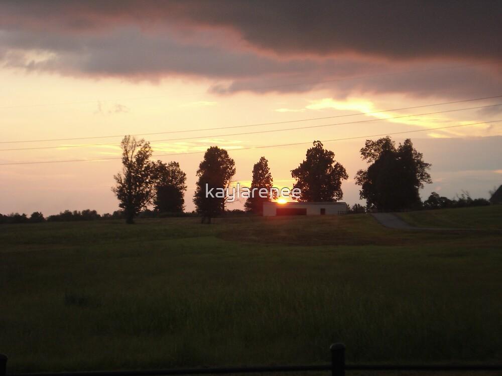 Sunset by kaylarenee