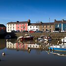 Aberaeron Harbour by mlphoto