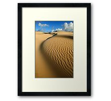 Quintessence of Wave Framed Print