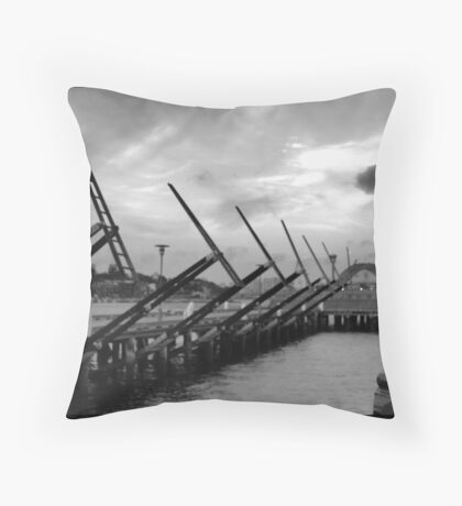 Pyrmont Waterside Sculptures, Sydney Throw Pillow