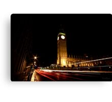 The 'Clock Tower'  Canvas Print