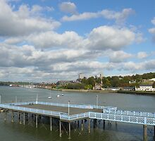 Today on the River Medway by brummieboy