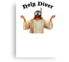 Holy Diver Canvas Print