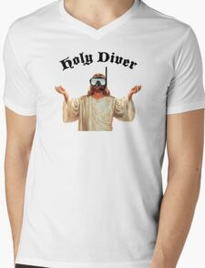 Holy Diver Mens V-Neck T-Shirt