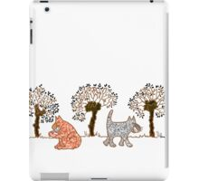 Cats 'n willows too iPad Case/Skin