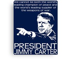 JIMMY CARTER-4 Canvas Print