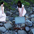  &quot;I Carry the Suitcase #2&quot; 2007 digital media by Tara  Standing