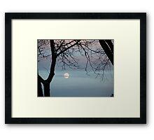 Pastel Sky Framed Print