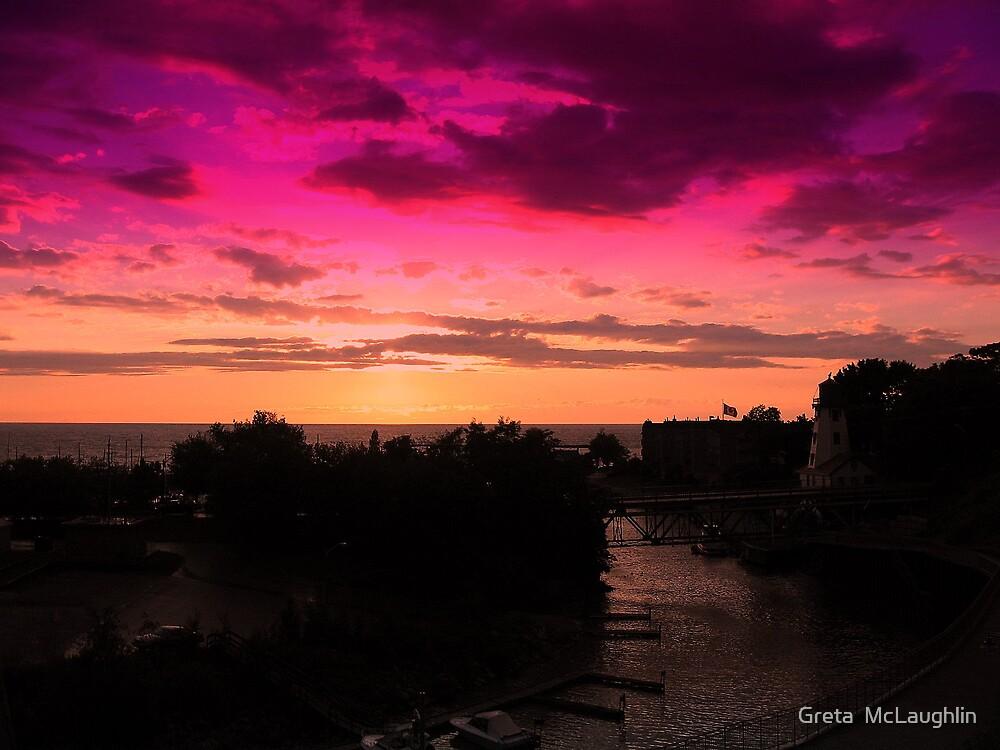 Night Colours by Greta  McLaughlin