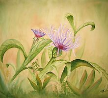 Thistle # 112 by Rebecca Wadle
