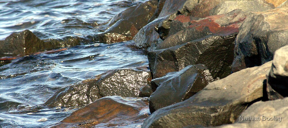 Water on Rocks by Nathan Dooley