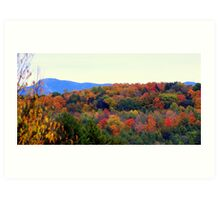 Fall Hillside Art Print