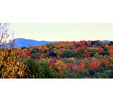 Fall Hillside Photographic Print
