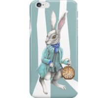 Follow the White Rabbit iPhone Case/Skin