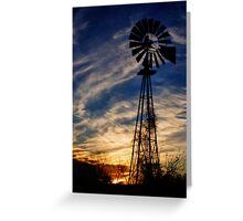 Day's End Greeting Card