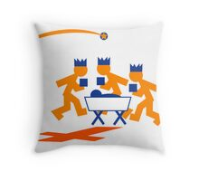 We three kings Throw Pillow