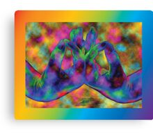 Buddhi (Enlightenment) Mudra • 2008 Canvas Print