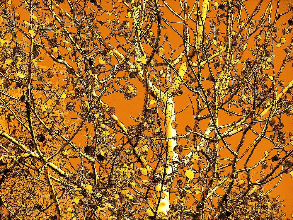 Leafy Branch by Gene Cyr