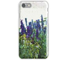 Flowers Drinking Water - Watercolor Look iPhone Case/Skin