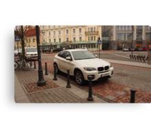 BMW X6 for joy Canvas Print