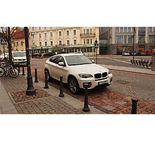 BMW X6 for joy Photographic Print
