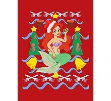 The Merry Mermaid Photographic Print