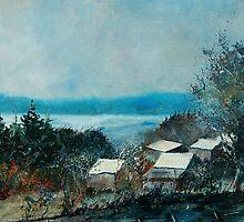 Houdremont village belgium by calimero