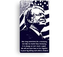 JIMMY CARTER-2 Canvas Print