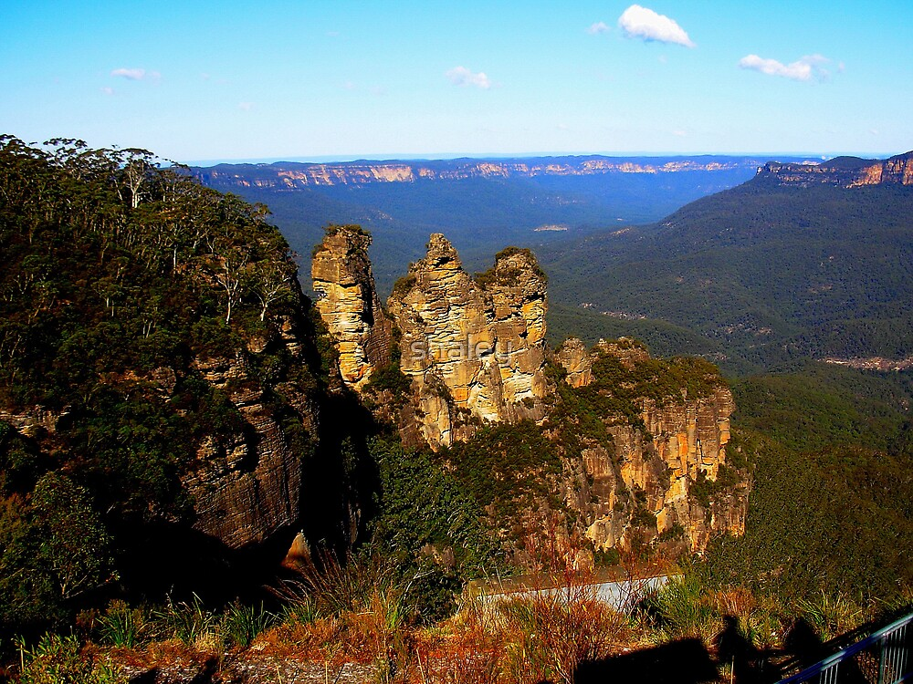 The Blue Mountains by shaley