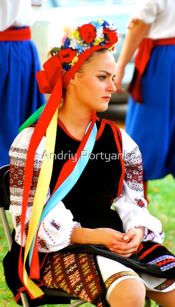 Ukrainka by Andriy Portyanko
