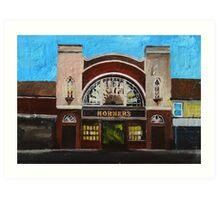 Horners, Hull Art Print