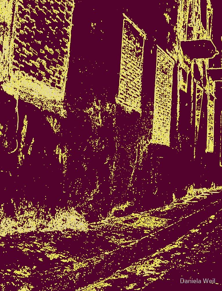Walking down a spooky street! by Daniela Weil