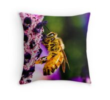 Bee'n Macro Throw Pillow