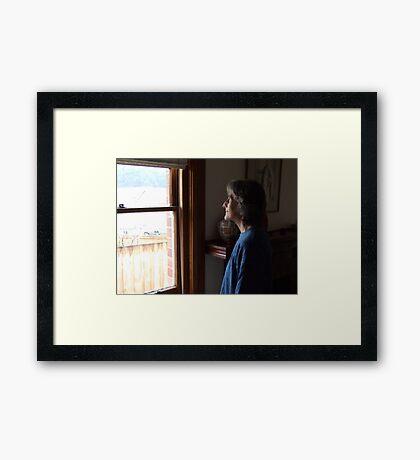 Gail Cork, Wordsmith Framed Print