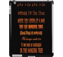 The Hanging Tree iPad Case/Skin