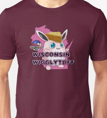 Wisconsin Wigglytuff - March Madness Edition Unisex T-Shirt