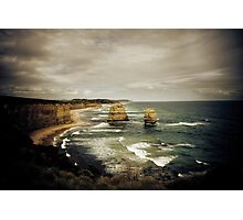 Twelve Apostles at Gibsons Beach, Great Ocean Road, Victoria Photographic Print