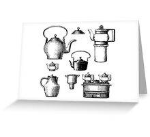 Household goods Greeting Card