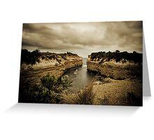 Loch Ard Gorge, Great Ocean Road, Victoria Greeting Card