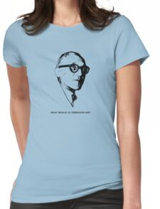 What would le Corbusier do? Architecture T shirt Womens Fitted T-Shirt