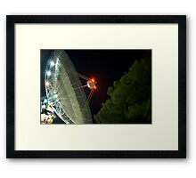 the dish2 Framed Print